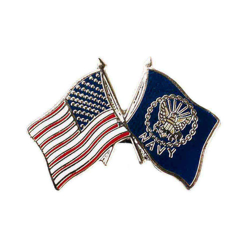 us navy hat lapel pin