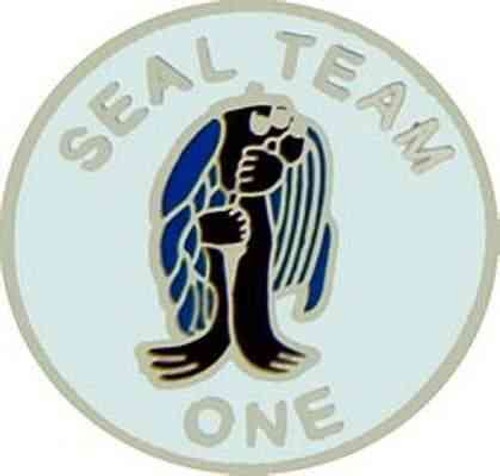 navy seal team 1 hat lapel pin