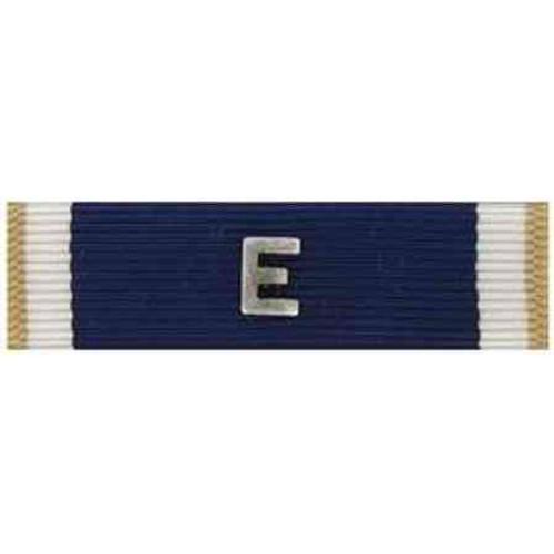navy e ribbon