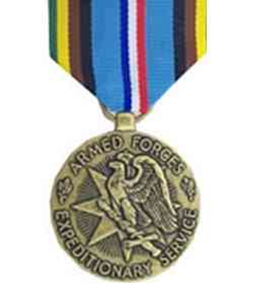 armed forces expeditionary minimedal w mount