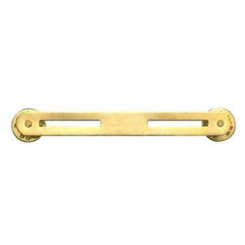 2 ribbon mount brass