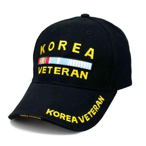 korea veteran service ribbon hat