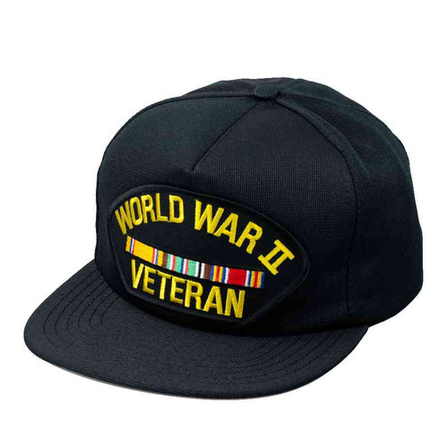 world war ii veteran service ribbon hat