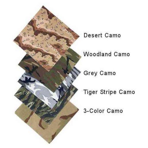 camouflage bandanas