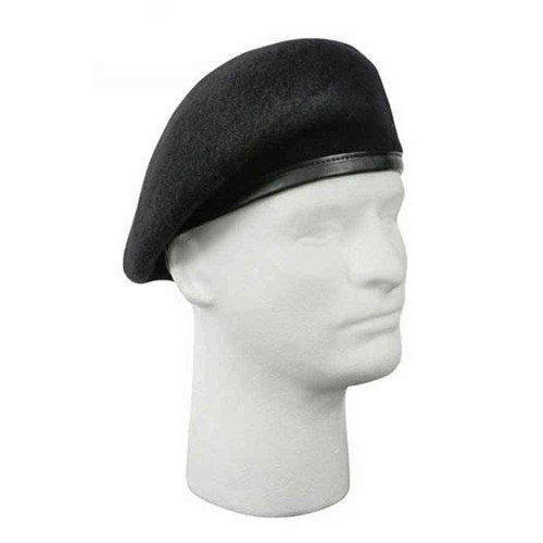 u s military inspection ready wool beret black