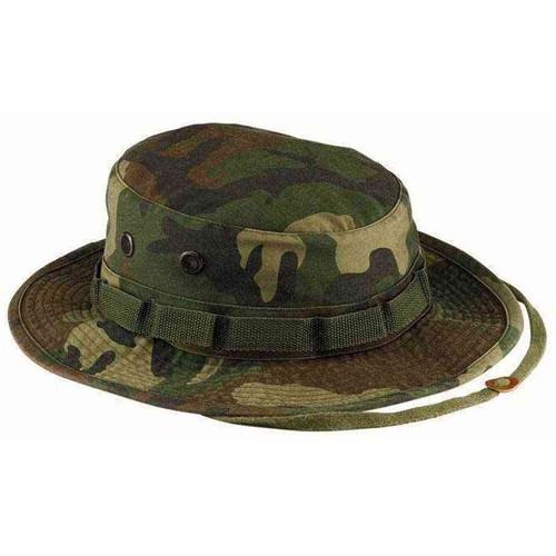 vintage woodland camo boonie hat