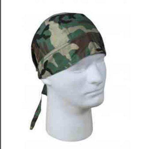 woodland camo headwrap