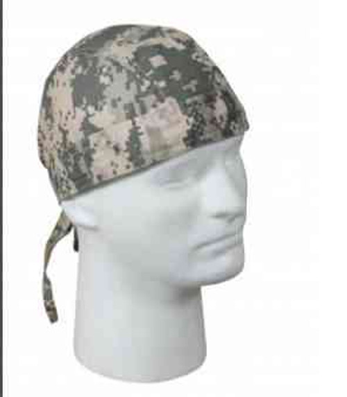 a c u digital camo headwrap