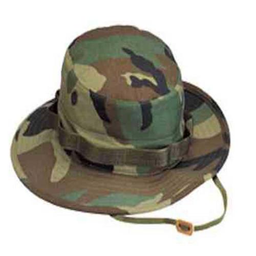woodland camo boonie hat