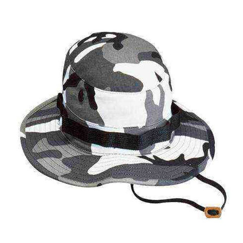 city camo boonie hat