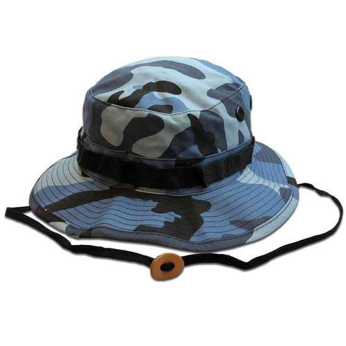 sky blue camo boonie hat