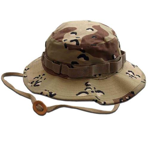 6color desert camo boonie hat