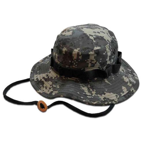 subdued urban camo boonie hat