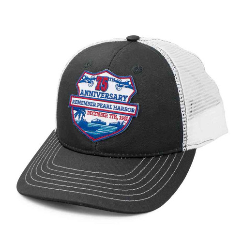 75th anniversary pearl harbor wwii hat