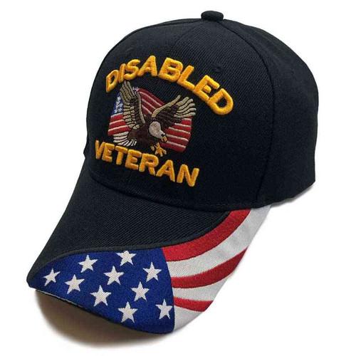 disabled veteran u s flag eagle special edition hat