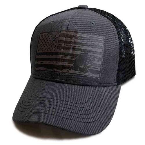 u s flag soldier custom edition vinyl emblem hat