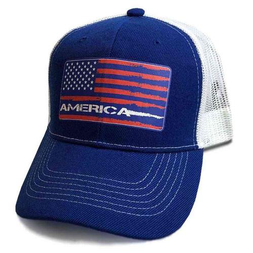 u s a flag custom edition vinyl emblem hat