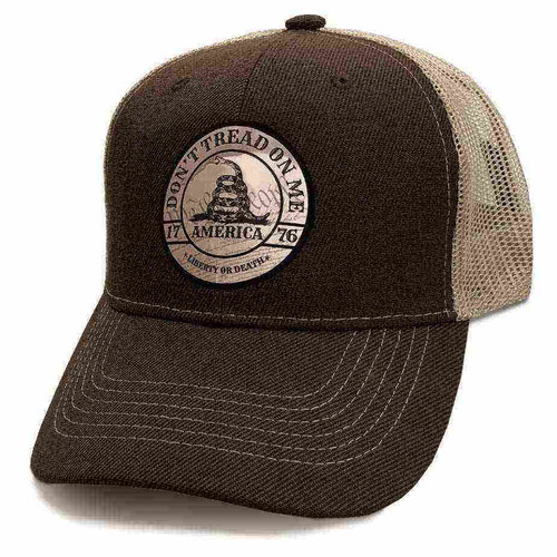 america 1776 custom edition emblem tan hat