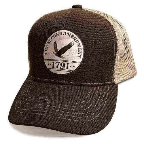 second amendment custom emblem hat
