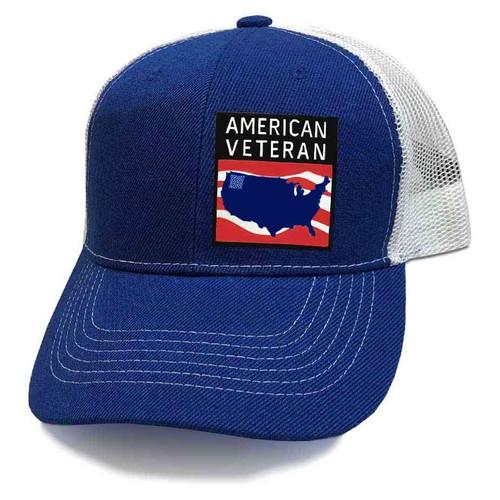 us veteran hat american veteran and us map vinyl