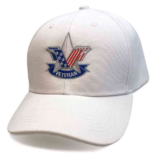 us veteran hat embroidered stars and stripes