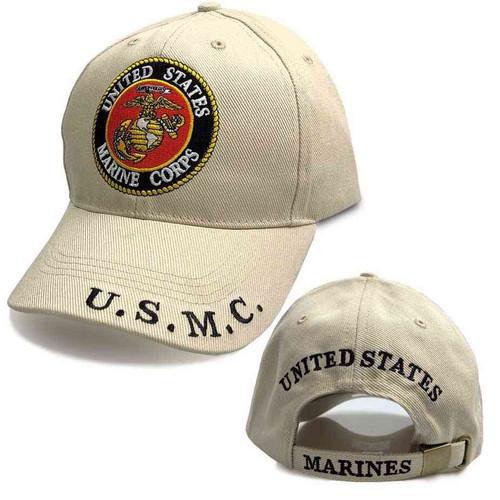 marine corps hat usmc and eagle emblem