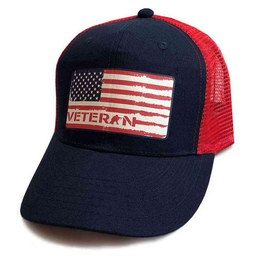 us veteran hat us flag vinyl