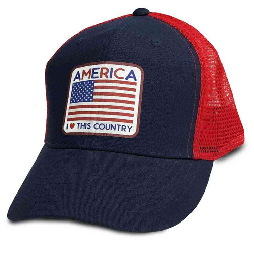 us flag hat vinyl and america i love this country