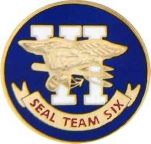 navy seal team 6 hat lapel pin