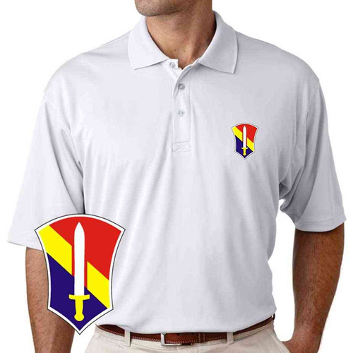 army 1st field force veteran performance polo shirt