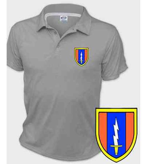 army 1st signal brigade performance polo shirt