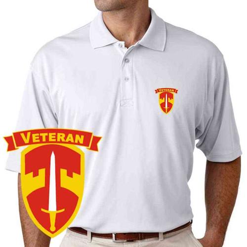 macv veteran performance polo shirt