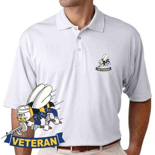 navy seabees veteran performance polo