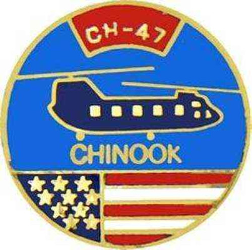 ch47 chinook hat lapel pin