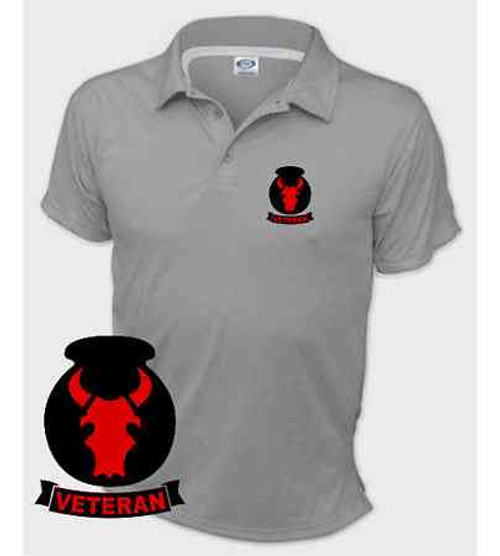 army 34th infantry division veteran performance polo shirt