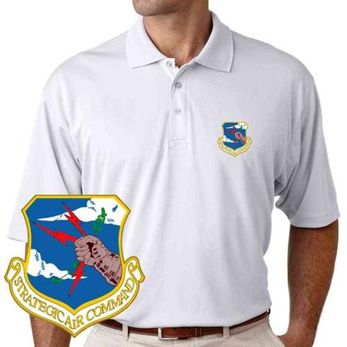 air force strategic air command performance polo shirt