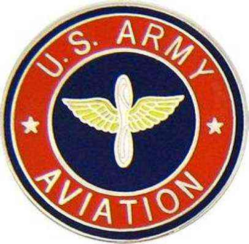 army aviation hat lapel pin
