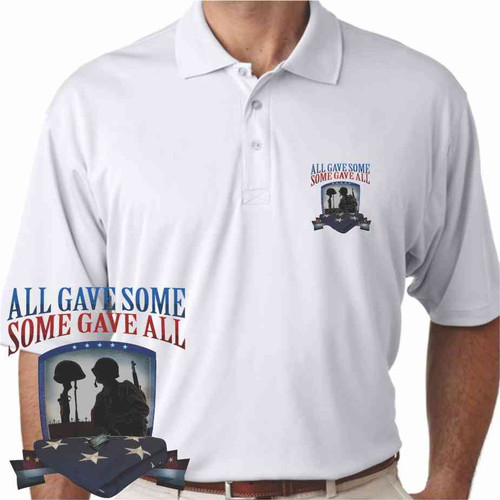 all gave some some gave all performance polo shirt