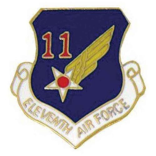 air force 11th air force hat lapel pin
