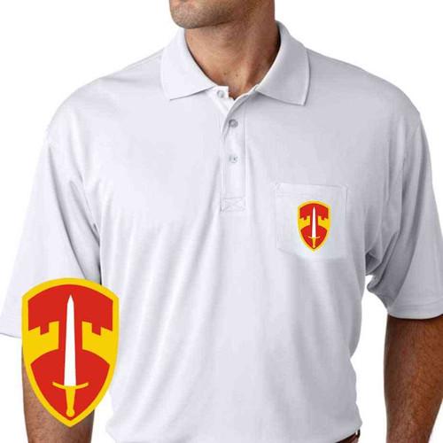 macv performance pocket polo shirt
