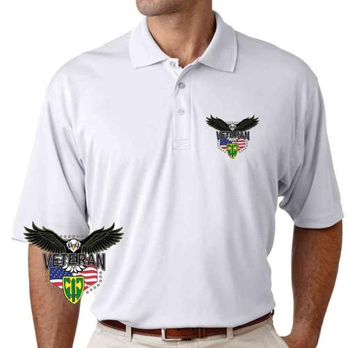 18th military police brigade w eagle performance polo shirt