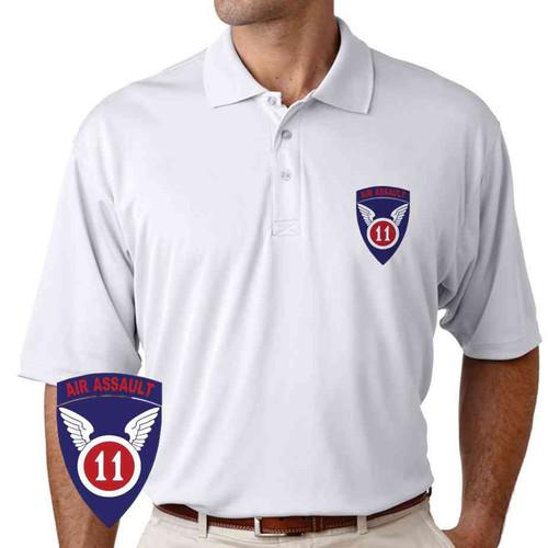 11th air assault performance polo shirt