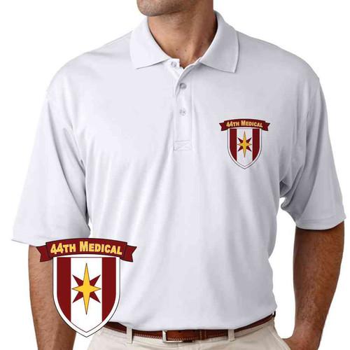 44th medical brigade performance polo shirt