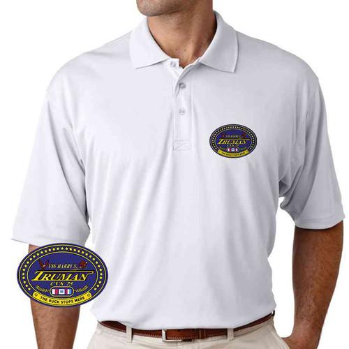 uss harry s truman performance polo shirt