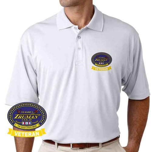 uss harry s truman veteran performance polo shirt