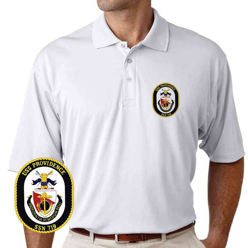 uss providence performance polo shirt