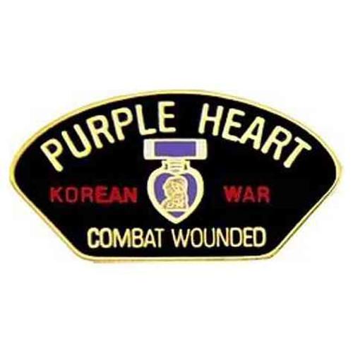 korea war ph hat lapel pin