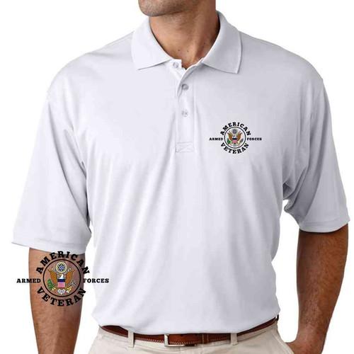 american veteran performance polo shirt