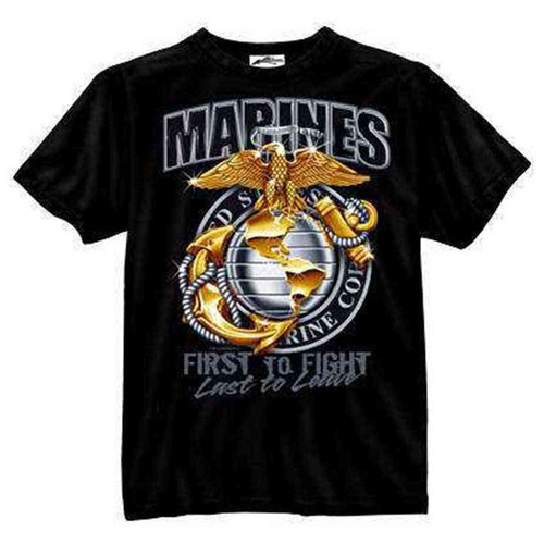 marines first to fight tshirt