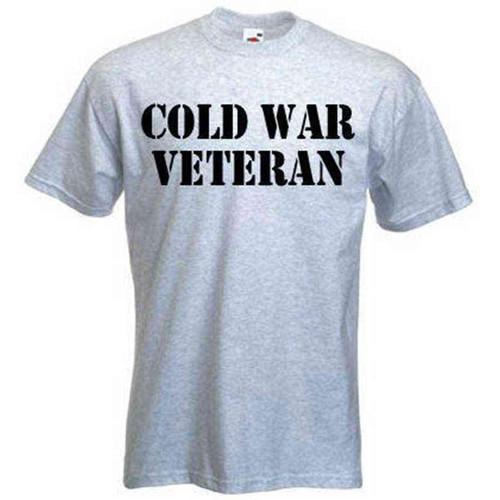 custom cold war veteran tshirt
